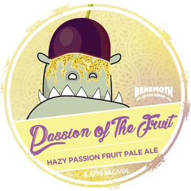 Passion of the Fruit tap badge
