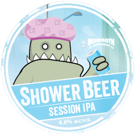 Shower Beer tap badge