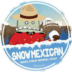 Snow Mexican tap badge