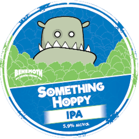 Something Hoppy tap badge