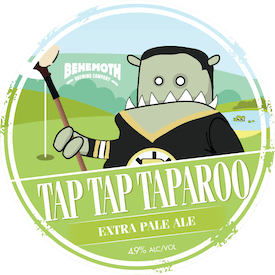 Tap Tap Taparoo tap badge
