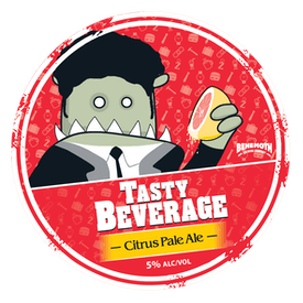 Tasty Beverage Citrus Pale Ale tap badge