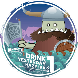 Drink Yesterday tap badge