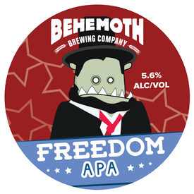Freedom APA tap badge