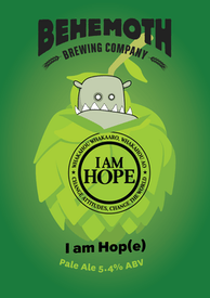 I Am Hop(e) tap badge