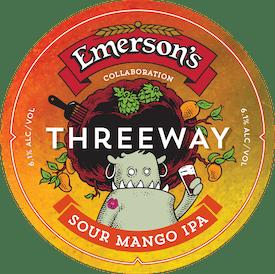 Threeway tap badge