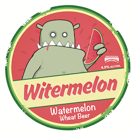 Witermelon tap badge