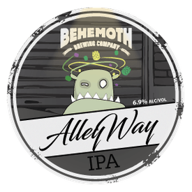 Alley Way tap badge