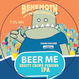 Beer Me tap badge
