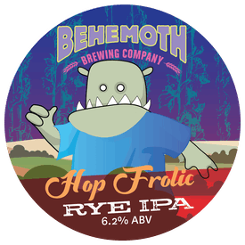 Hop Frolic tap badge