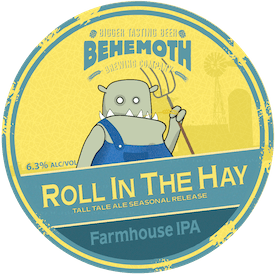 Roll in the Hay tap badge