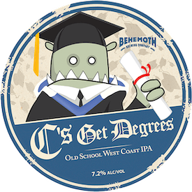 C's Get Degrees tap badge