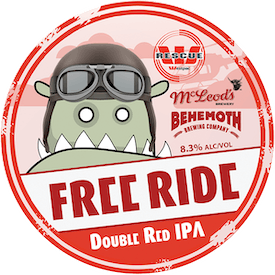 Free Ride tap badge