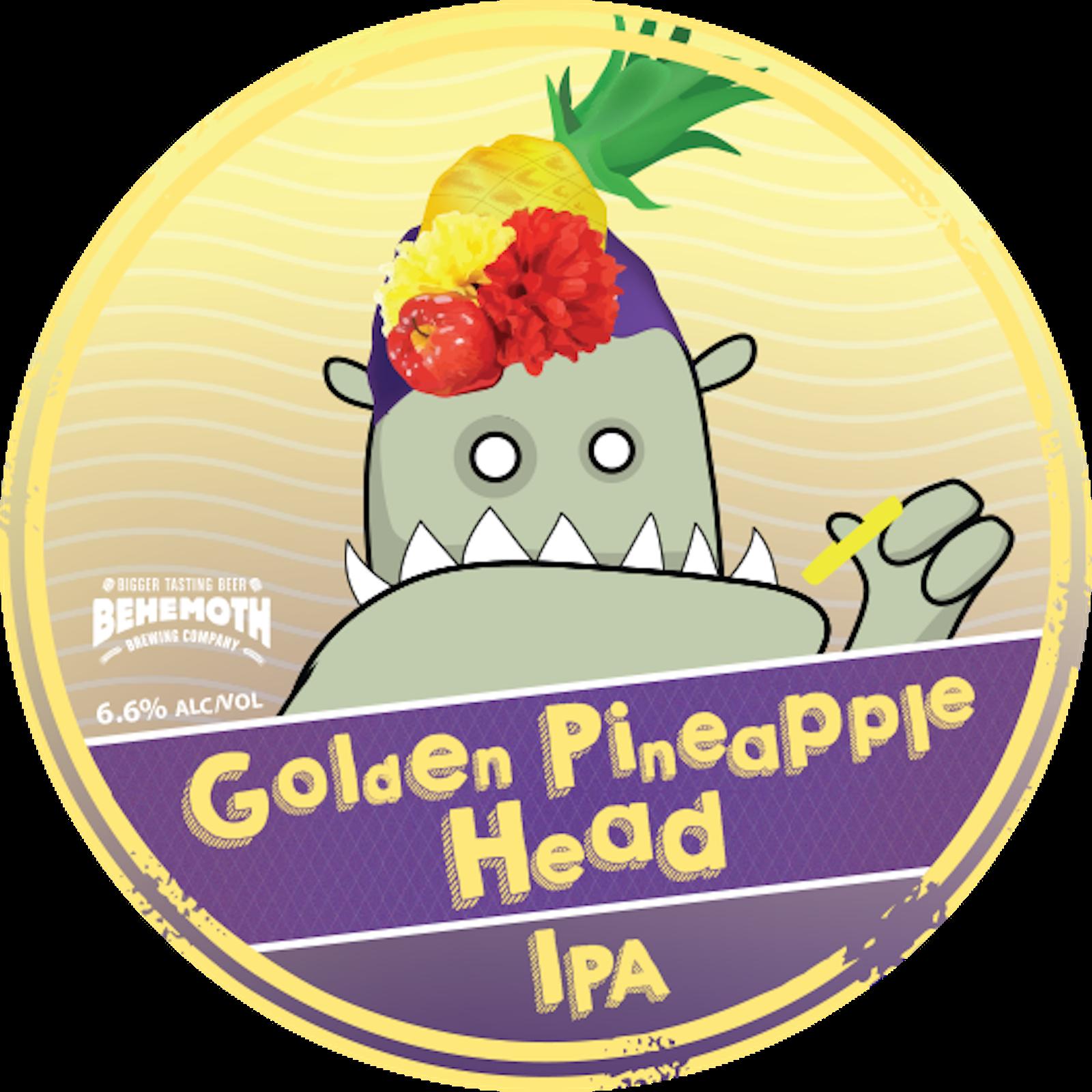 Golden Pineapple Head