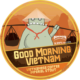 Good Morning Vietnam tap badge