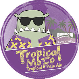 Tropical Mo Fo tap badge