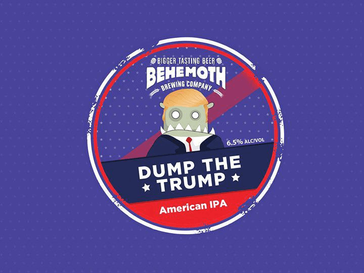 Dump the Trump American IPA - Beer Launch