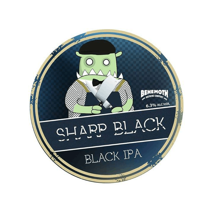 Behemoth Brewing 3rd Birthday Christchurch Edition - Sharp Black Fundraiser